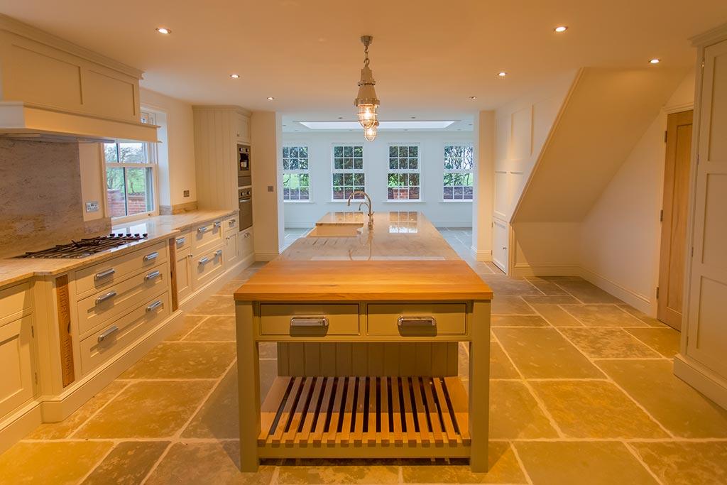 Bespoke kitchens in renovated properties