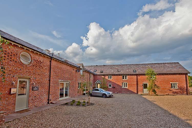 Blackhill Farm, exterior shot, buy property Cheshire